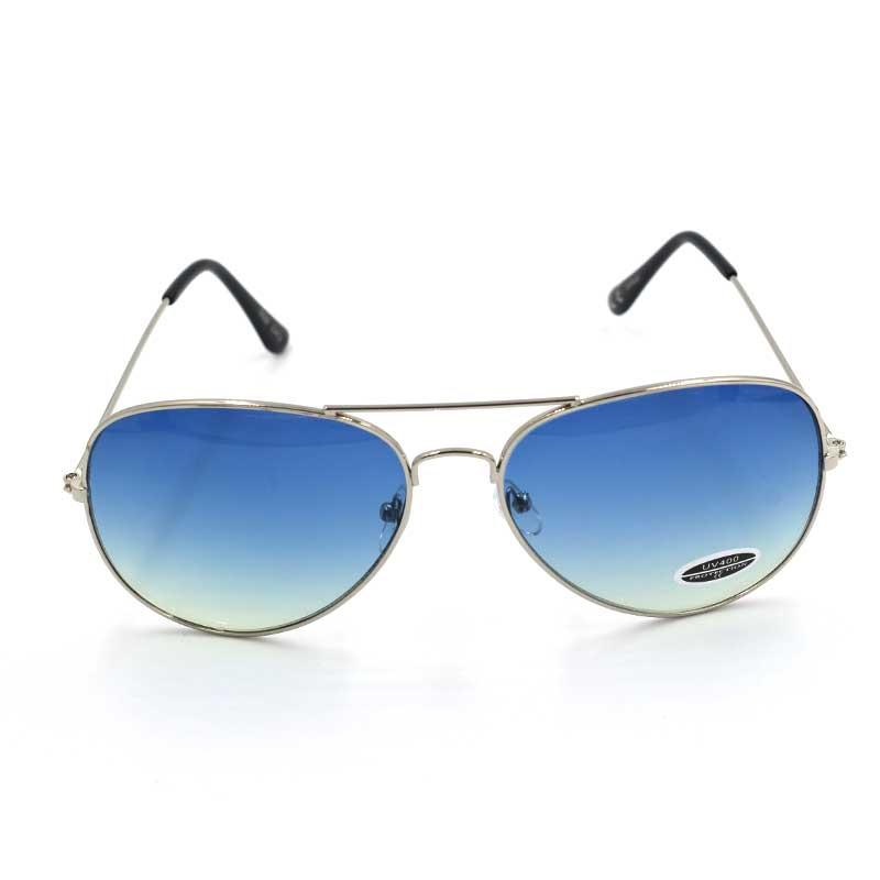 38d4d61580 ΓΥΑΛΙΑ ΗΛΙΟΥ AVIATOR SILVER   BLUE – Vasel