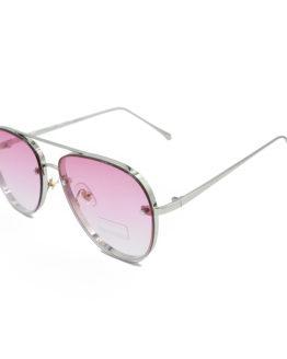 gynaikeia gyalia hlioy aviator silver & pink