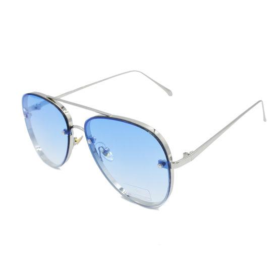 gyalia hlioy unisex aviator silver & blue