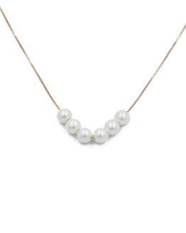 kolie me perles apo ashmi 925